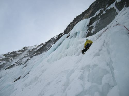 Gianni Dorigo on the second pitch, Massimo Laurencig