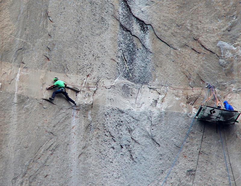 874b50ac Dawn Wall frenzy reaches fever pitch as Caldwell and Jorgeson climb to new  heights on El Capitan
