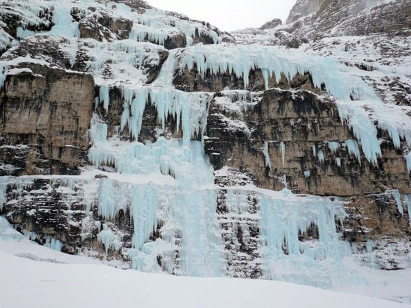 Le cascate della Val Travenanzes, arch. G. Ballico