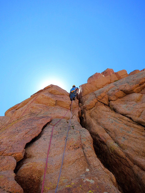 Los arenales l 39 arrampicata nel paradiso di granito in for Granito argentina