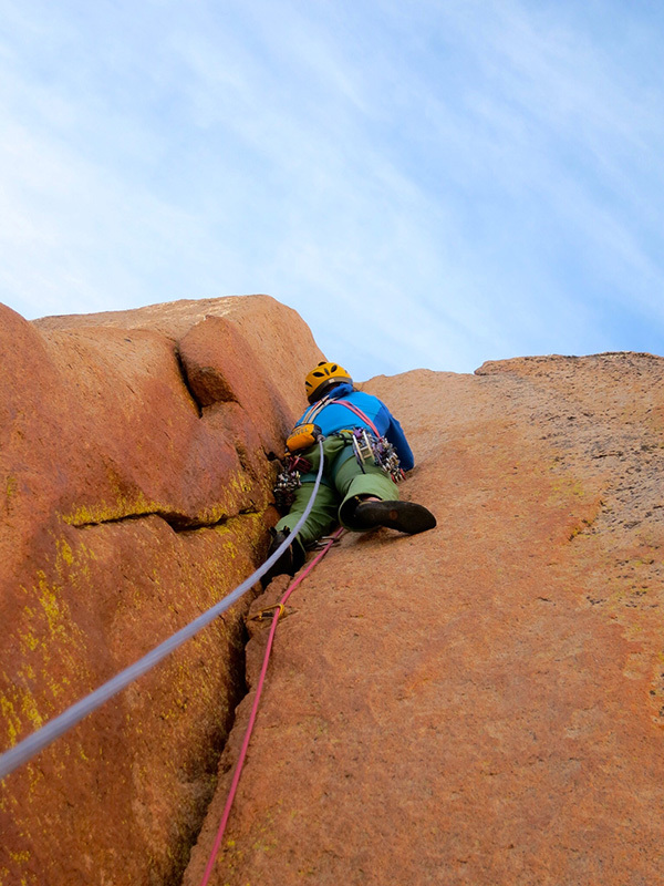Climbing at Los Arenales in Argentina: MNHCC, one pitch after the next of perfect granite cracks Michael Lerjen-Demjen