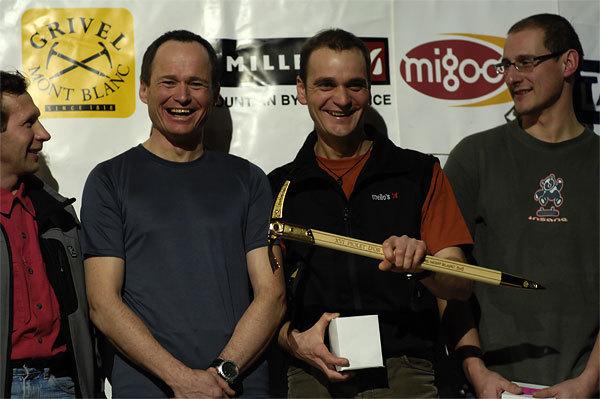 Piolet d'Or 2006:, Yuri Koshelenko, Marko Prezelj, Boris Lorencic e Ian Parnell, Giulio Malfer