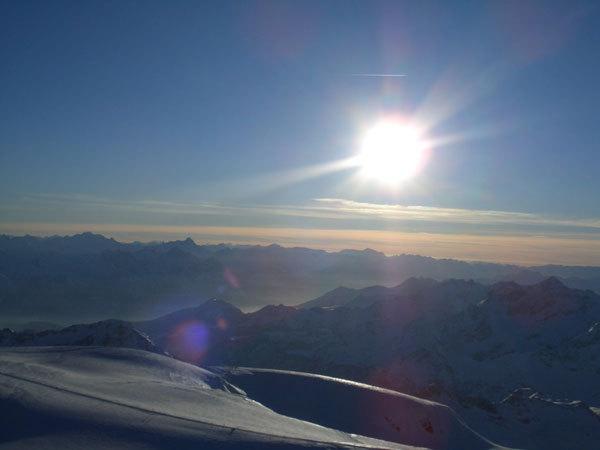, Traversata invernale delle Alpi con gli sci