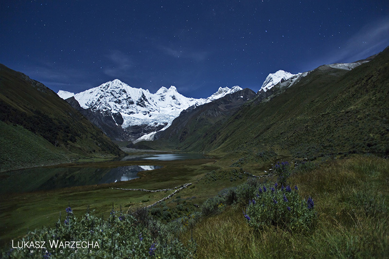 The Cordillera Huayhuash in Perú