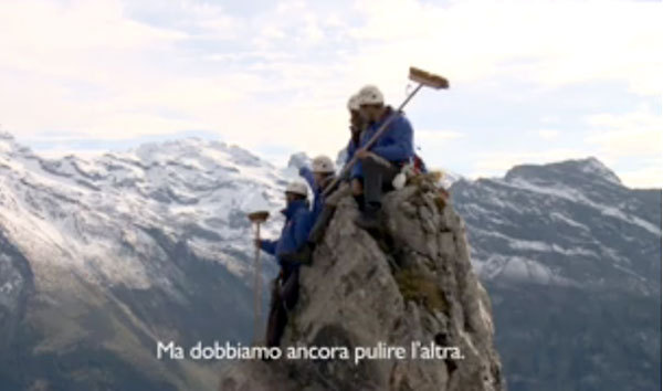 La Svizzera pulisce le sue montagne, Planetmountain.com