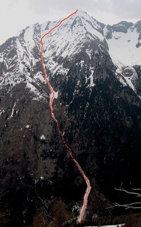 Cima d'Arcanzo 2714m (Val Masino), arch. M.Vannuccini