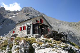 Il Rifugio Franchetti, Gran Sasso, Rifugio Franchetti