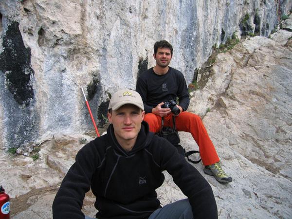 Ricardo Scarian sale Thin Ice 8c a Terlago., arch. Scarian