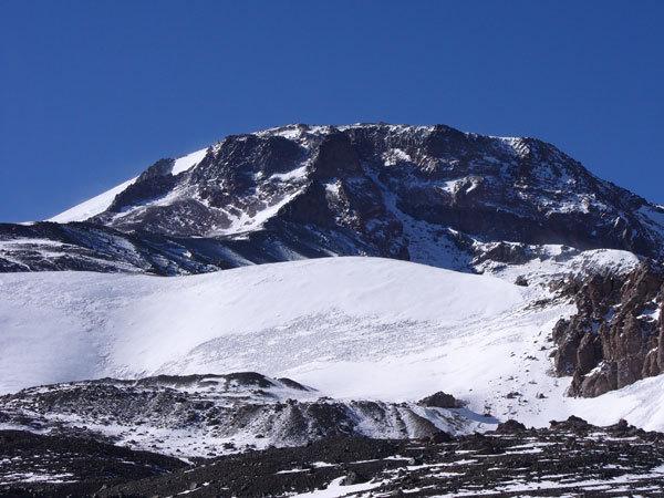 Cerro Volcan Tupungato (6570m) - Cordillera Andina Cilena, arch. Maurizio Callegarin