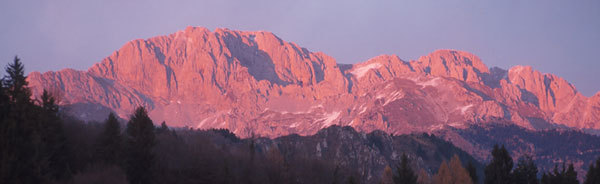 La Presolana al tramonto, Maurizio Arosio