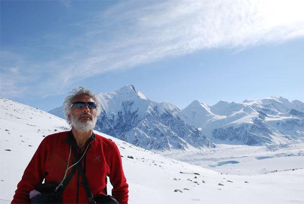 Giuliano De Marchi at Mount Denali, arch. M. Barbiero