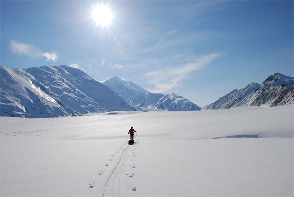 Giuliano De Marchi in Alaska (M.te Denali), arch. M. Barbiero