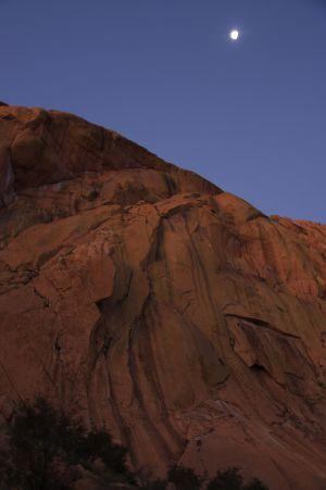 Orabeskopf, Brandberg, Namibia, dove corre la via Southern Crossing., Peter Doucette