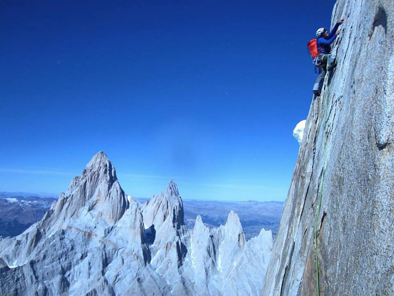 Interview with Colin Haley and Alex Honnold after the Cerro