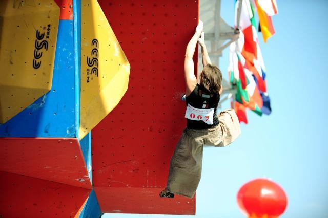 IFSC Climbing World Championships - Qinghai (CHN) 2009, Li Shu