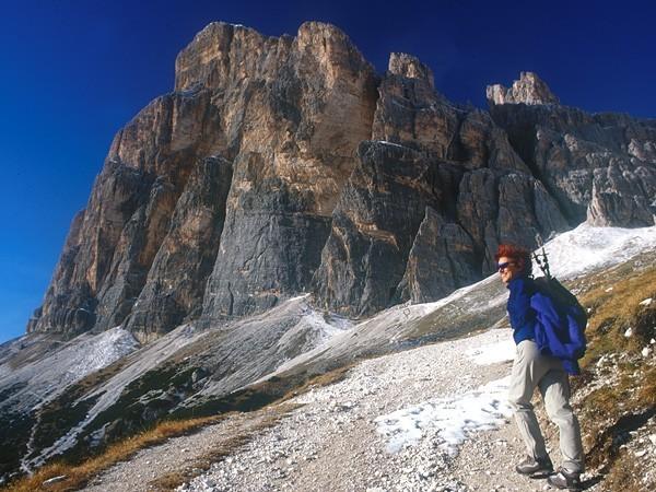 Via Ferrata Giovanni Lipella, Tofana di Rozes, Dolomites., Planetmountain.com