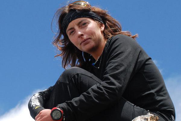 Cristina Castagna al Makalu nel 2008, arch. C. Castagna