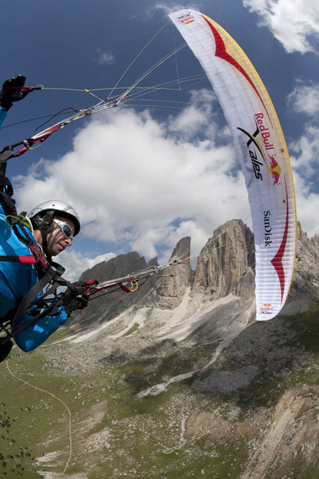 Pal Takats (HUN) nelle Dolomiti, Olivier Laugero/ Red Bull Photofiles