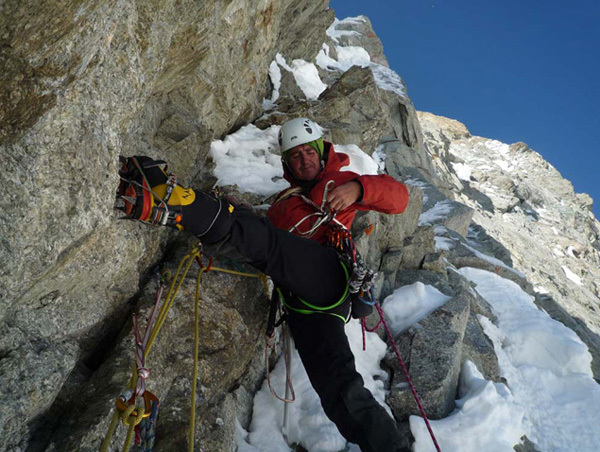 Jean Troillet, Martial Dumas and Jean-Yves Fredriksen have carried out the first ascent of