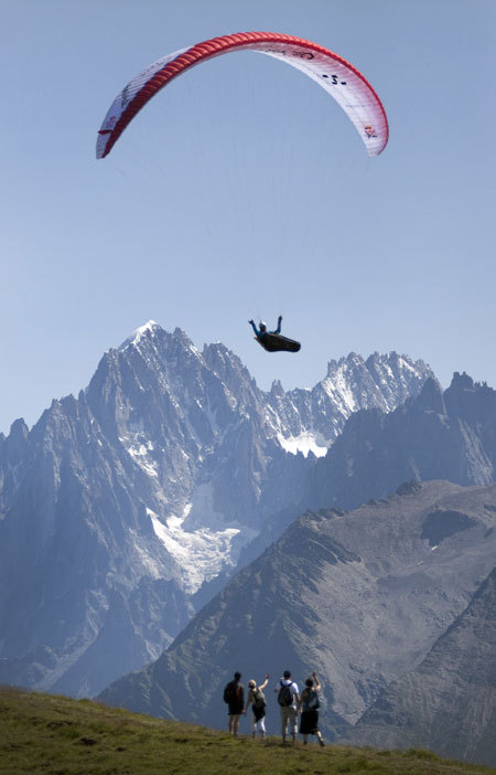 Christian Maurer - Mont Blanc, France, Dean Treml/Red Bull Photofiles