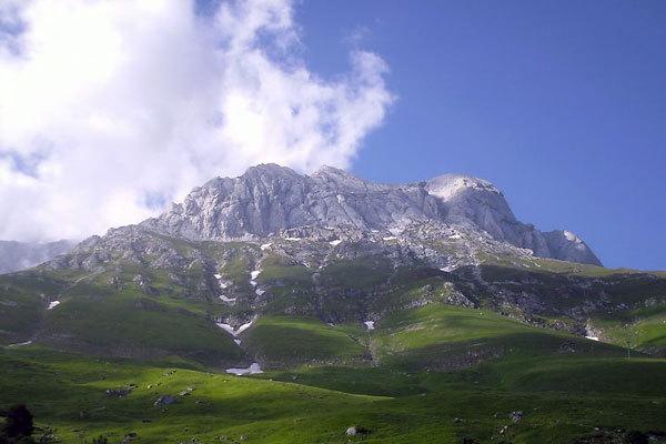 Il versante nord del Corno Piccolo dai Prati di Tivo, Francesca Colesanti