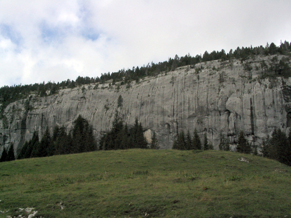 The marvellous French limestone crag Ablon., Enrico Serafini