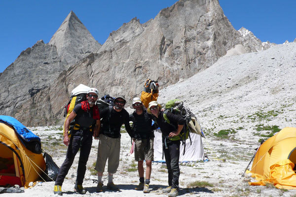 The true summit: return to Base Camp., arch. Karakorum 2009
