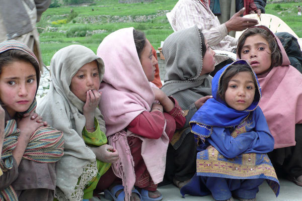 The children in Hushe, arch. Karakorum 2009