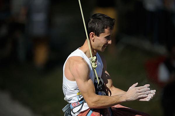 Ramòn Julien Puigblanque ha centrato il suo quarto trofeo ad Arco., Giulio Malfer