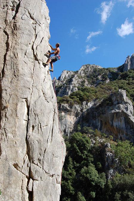 Italo Chessa al Piccolo Canyon, M. Oviglia