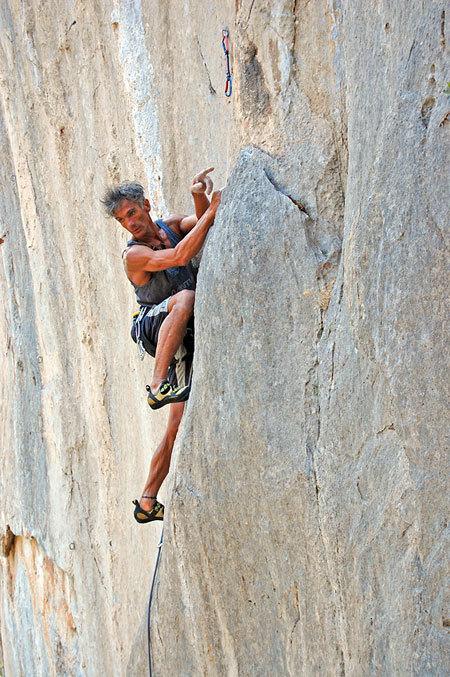 Dove va la via, per di qua?... Manolo al Piccolo Canyon., M. Oviglia