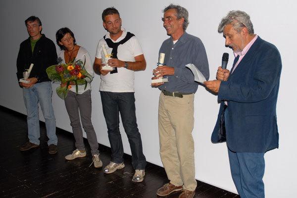 I Premiati della Sezione Audiovisivi, arch. Leggimontagna