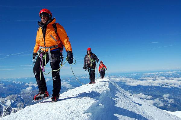 Verso la Cima del Monte Bianco, Alberto Rizzerio