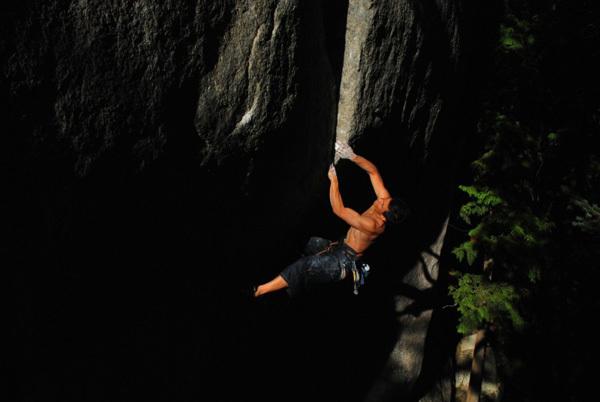 Yuji Hirayama sale Cobra Crack, Squamish, Canada, Shogo Murooka