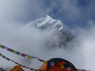 Il Cho Oyu dal Campo base, arch. Mountain Kingdom