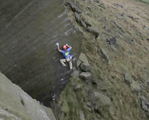 Miles Gibson stepping it out on his Dangermouse E9 7a, Wimberry, England., Ben Heason archive