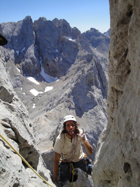 Pedro Nogueira on the final meters of the route., Leopoldo Faria archive