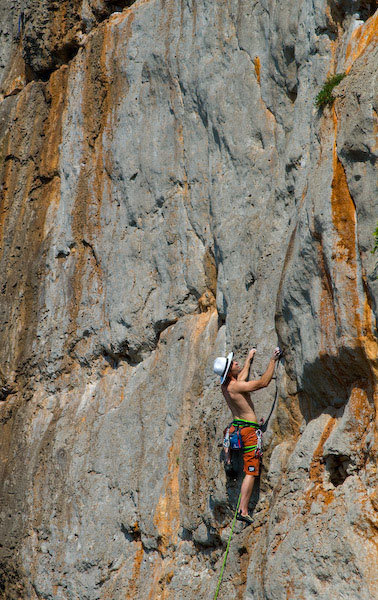 Gambaro sotto il sole cocente, Marco Spataro