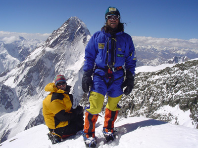 Roby Piantoni, Middle Broad Peak 8030m, 21/07/2005, archivio Piantoni