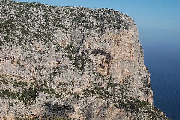 Cengia Giradili, Sardinia, Marcello Cominetti