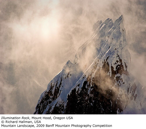 Mountain Landscape: Illumination Rock, Richard Hallman