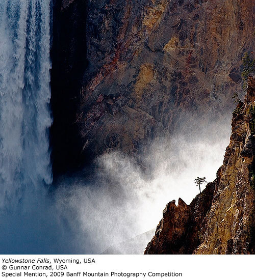 Special Mention: Yellowstone Falls, Gunnar Conrad