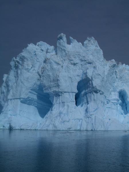 Iceberg o castelli di ghiaccio?, Michele Maggioni