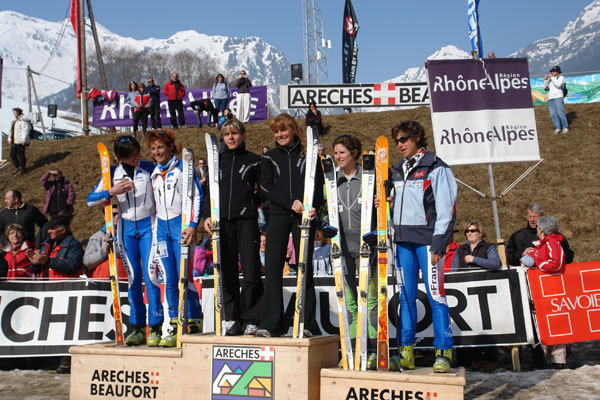 Female podium Pierra Menta 2007., Lorenzo Scandroglio
