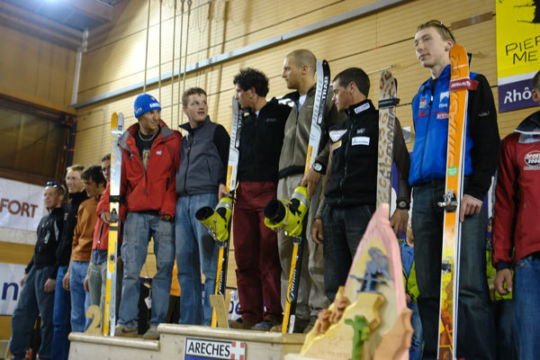 Espoir podium Pierra Menta 2007., Lorenzo Scandroglio