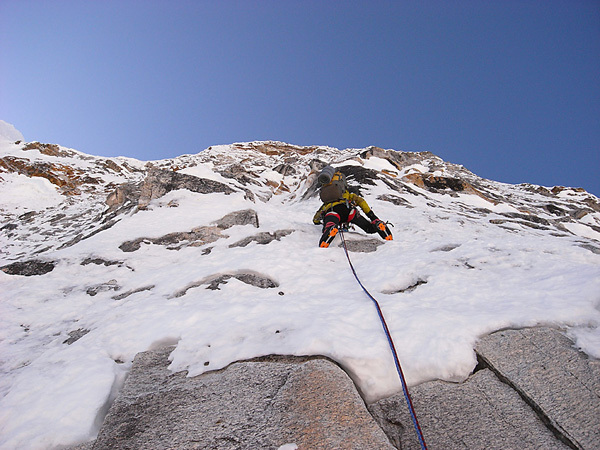 Chang Himal parete nord per Andy Houseman e Nick Bullock , Nepal, Bullock collection