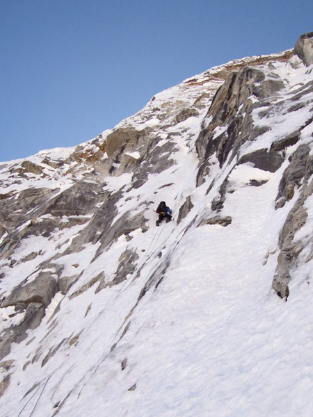 Chang Himal North Face climbed by Andy Houseman and Nick Bullock, Nepal, Bullock collection