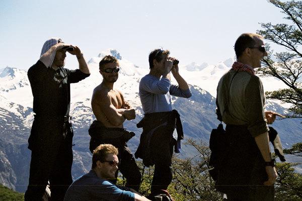 Cercando l'ingresso sul ghiacciaio Chico, Marcello Cominetti
