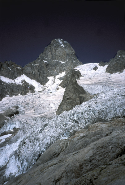 La est delle Grandes Jorasses, arch. Gervasutti