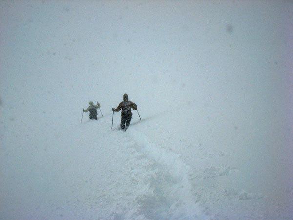 Scendendo sul ghiacciaio...., arch. E. Salvaterrra